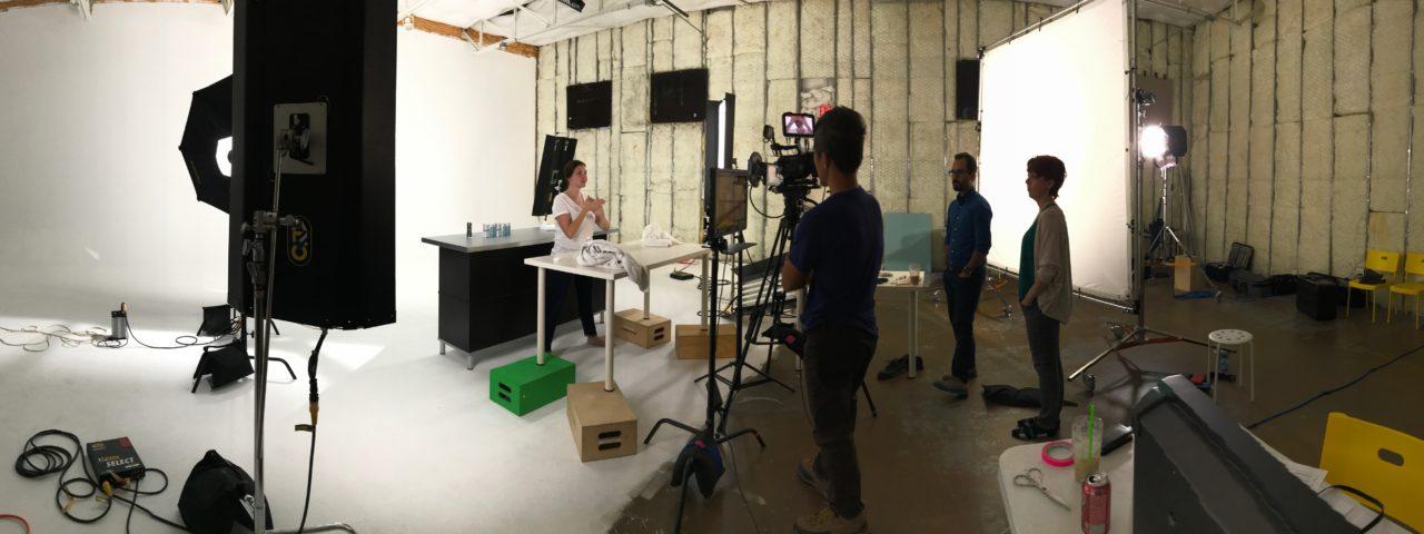 White Film Studio in Dallas, TX